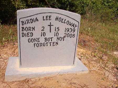 HOLLOWAY, BIRDIA LEE - Ouachita County, Arkansas | BIRDIA LEE HOLLOWAY - Arkansas Gravestone Photos