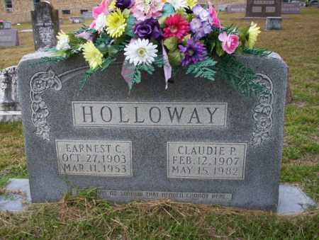HOLLOWAY, CLAUDIE P - Ouachita County, Arkansas | CLAUDIE P HOLLOWAY - Arkansas Gravestone Photos