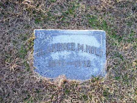 HOLT, CLARENCE M - Ouachita County, Arkansas | CLARENCE M HOLT - Arkansas Gravestone Photos