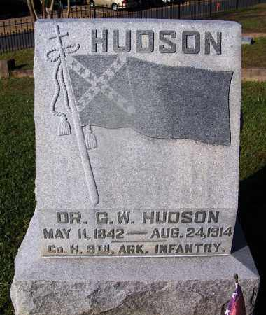 HUDSON  (VETERAN CSA), DR. G W - Ouachita County, Arkansas | DR. G W HUDSON  (VETERAN CSA) - Arkansas Gravestone Photos