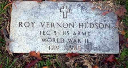 HUDSON (VETERAN WWII), ROY VERNON - Ouachita County, Arkansas | ROY VERNON HUDSON (VETERAN WWII) - Arkansas Gravestone Photos