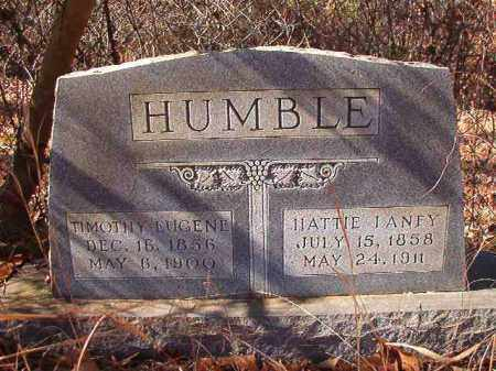 HUMBLE, HATTIE - Ouachita County, Arkansas | HATTIE HUMBLE - Arkansas Gravestone Photos