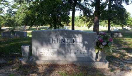 HUNTER, DOYLE - Ouachita County, Arkansas | DOYLE HUNTER - Arkansas Gravestone Photos