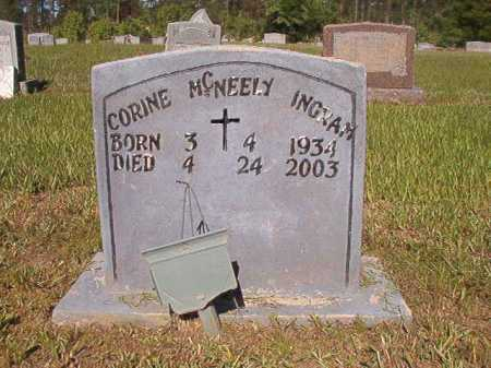 MCNEELY INGRAM, CORINE - Ouachita County, Arkansas | CORINE MCNEELY INGRAM - Arkansas Gravestone Photos