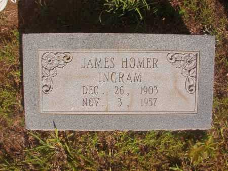 INGRAM, JAMES HOMER - Ouachita County, Arkansas | JAMES HOMER INGRAM - Arkansas Gravestone Photos