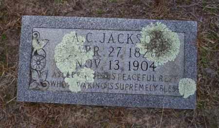 JACKSON, ALFRED C (BIO) - Ouachita County, Arkansas   ALFRED C (BIO) JACKSON - Arkansas Gravestone Photos