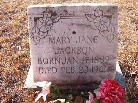 JACKSON, MARY JANE - Ouachita County, Arkansas | MARY JANE JACKSON - Arkansas Gravestone Photos