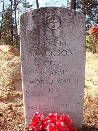JACKSON (VETERAN WWII), PERSEL - Ouachita County, Arkansas | PERSEL JACKSON (VETERAN WWII) - Arkansas Gravestone Photos