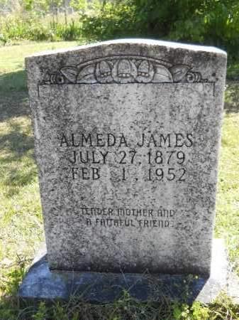 JAMES, ALMEDA - Ouachita County, Arkansas | ALMEDA JAMES - Arkansas Gravestone Photos