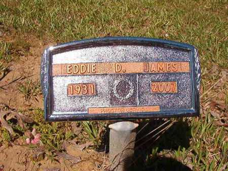 JAMES, EDDIE D - Ouachita County, Arkansas | EDDIE D JAMES - Arkansas Gravestone Photos
