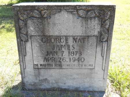 JAMES, GEORGE NAT - Ouachita County, Arkansas | GEORGE NAT JAMES - Arkansas Gravestone Photos