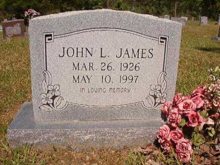 JAMES, JOHN L - Ouachita County, Arkansas | JOHN L JAMES - Arkansas Gravestone Photos