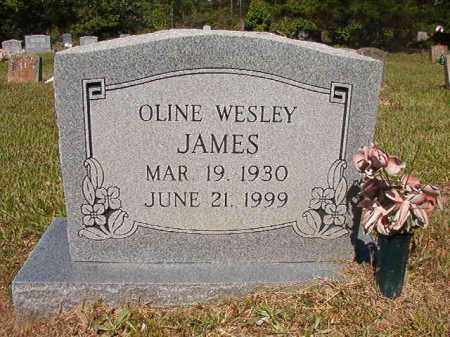 JAMES, OLINE WESLEY - Ouachita County, Arkansas | OLINE WESLEY JAMES - Arkansas Gravestone Photos