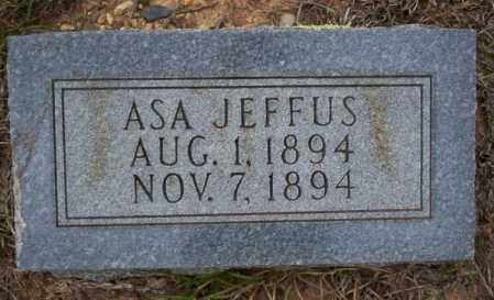 JEFFUS, ASA - Ouachita County, Arkansas | ASA JEFFUS - Arkansas Gravestone Photos