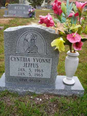 JEFFUS, CYNTHIA YVONNE - Ouachita County, Arkansas | CYNTHIA YVONNE JEFFUS - Arkansas Gravestone Photos