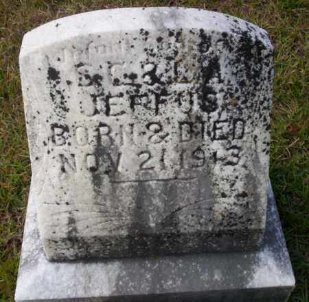 JEFFUS, INFANT SON - Ouachita County, Arkansas | INFANT SON JEFFUS - Arkansas Gravestone Photos