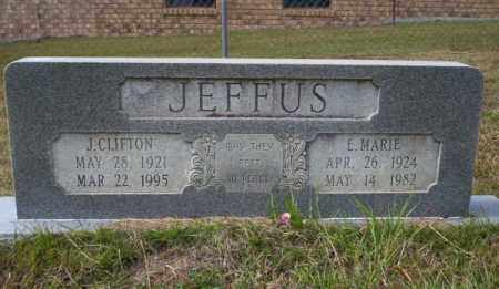 JEFFUS, E MARIE - Ouachita County, Arkansas | E MARIE JEFFUS - Arkansas Gravestone Photos