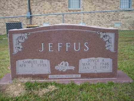 JEFFUS, JOYCE A - Ouachita County, Arkansas | JOYCE A JEFFUS - Arkansas Gravestone Photos