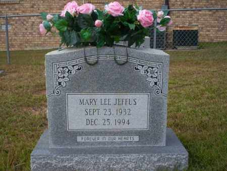 JEFFUS, MARY LEE - Ouachita County, Arkansas | MARY LEE JEFFUS - Arkansas Gravestone Photos