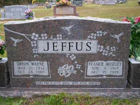 JEFFUS, ORION WAYNE - Ouachita County, Arkansas | ORION WAYNE JEFFUS - Arkansas Gravestone Photos