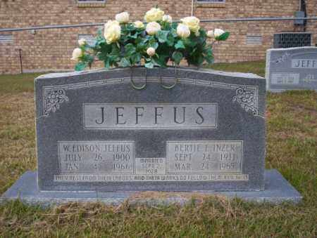 JEFFUS, W EDISON - Ouachita County, Arkansas | W EDISON JEFFUS - Arkansas Gravestone Photos