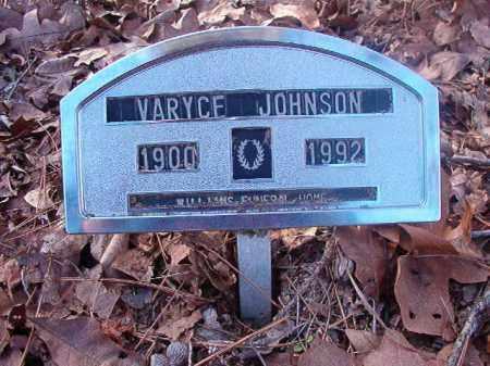 JOHNSON, VARYCE - Ouachita County, Arkansas | VARYCE JOHNSON - Arkansas Gravestone Photos