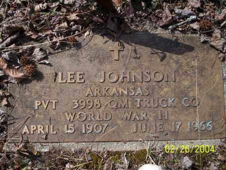 JOHNSON (VETERAN WWII), LEE - Ouachita County, Arkansas | LEE JOHNSON (VETERAN WWII) - Arkansas Gravestone Photos