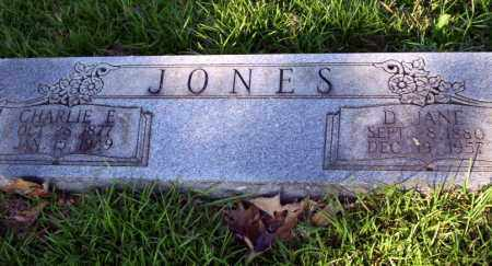 JONES, D. JANE - Ouachita County, Arkansas | D. JANE JONES - Arkansas Gravestone Photos