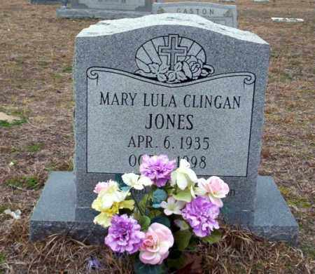 CLINGAN JONES, MARY LULA - Ouachita County, Arkansas | MARY LULA CLINGAN JONES - Arkansas Gravestone Photos