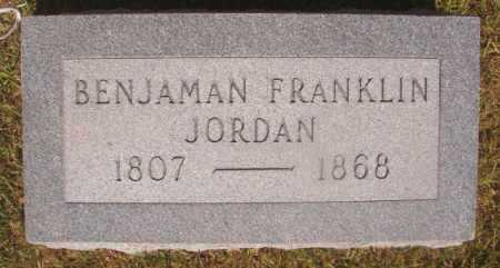 JORDAN, BENJAMAN FRANKLIN - Ouachita County, Arkansas | BENJAMAN FRANKLIN JORDAN - Arkansas Gravestone Photos