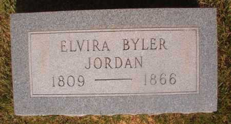 BYLER JORDAN, ELVIRA - Ouachita County, Arkansas | ELVIRA BYLER JORDAN - Arkansas Gravestone Photos