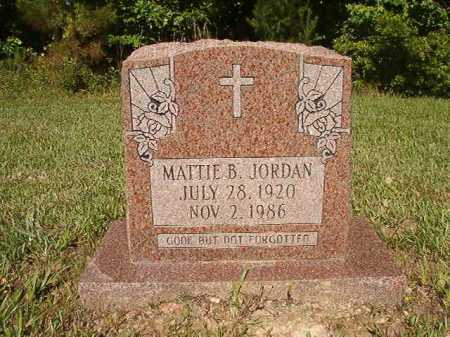 JORDAN, MATTIE B - Ouachita County, Arkansas | MATTIE B JORDAN - Arkansas Gravestone Photos