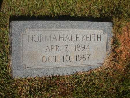 HALE KEITH, NORMA - Ouachita County, Arkansas | NORMA HALE KEITH - Arkansas Gravestone Photos