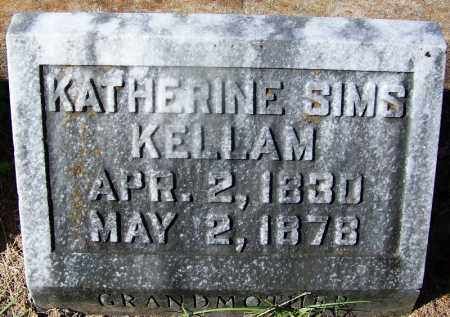 KELLAM, KATHERINE - Ouachita County, Arkansas | KATHERINE KELLAM - Arkansas Gravestone Photos