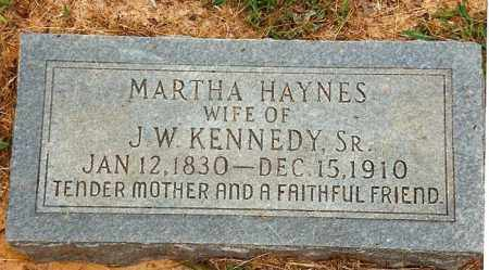 KENNEDY, MARTHA - Ouachita County, Arkansas | MARTHA KENNEDY - Arkansas Gravestone Photos