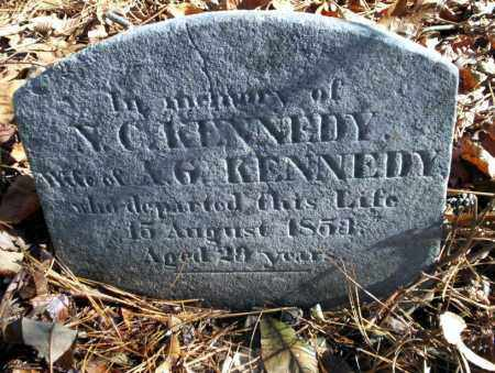KENNEDY, N.C. - Ouachita County, Arkansas | N.C. KENNEDY - Arkansas Gravestone Photos