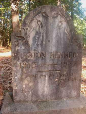 KENNEDY, PRESTON - Ouachita County, Arkansas | PRESTON KENNEDY - Arkansas Gravestone Photos