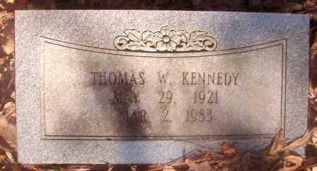 KENNEDY, THOMAS W - Ouachita County, Arkansas | THOMAS W KENNEDY - Arkansas Gravestone Photos
