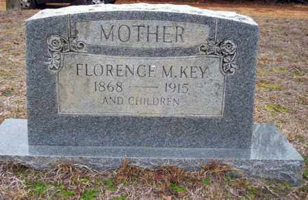 KEY, FLORENCE M - Ouachita County, Arkansas   FLORENCE M KEY - Arkansas Gravestone Photos