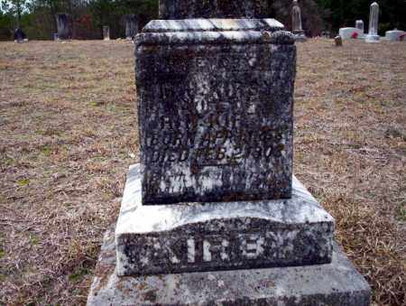 KIRBY, M.J. - Ouachita County, Arkansas | M.J. KIRBY - Arkansas Gravestone Photos