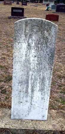 KIRBY (VETERAN), ALBY THERMON - Ouachita County, Arkansas | ALBY THERMON KIRBY (VETERAN) - Arkansas Gravestone Photos
