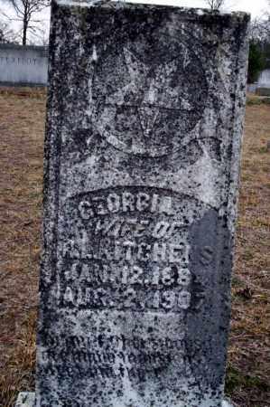 KITCHENS, GEORGIA - Ouachita County, Arkansas   GEORGIA KITCHENS - Arkansas Gravestone Photos