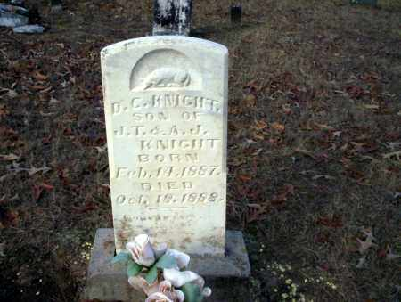 KNIGHT, D.C. - Ouachita County, Arkansas | D.C. KNIGHT - Arkansas Gravestone Photos