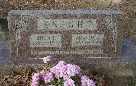 KNIGHT, JOHN T - Ouachita County, Arkansas | JOHN T KNIGHT - Arkansas Gravestone Photos