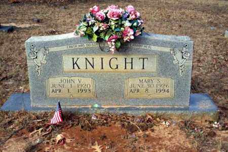 KNIGHT, JOHN V - Ouachita County, Arkansas | JOHN V KNIGHT - Arkansas Gravestone Photos