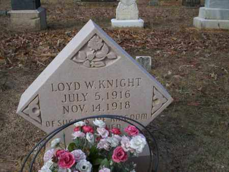 KNIGHT, LOYD W - Ouachita County, Arkansas | LOYD W KNIGHT - Arkansas Gravestone Photos