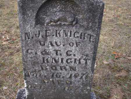 KNIGHT, N.J.E. - Ouachita County, Arkansas | N.J.E. KNIGHT - Arkansas Gravestone Photos
