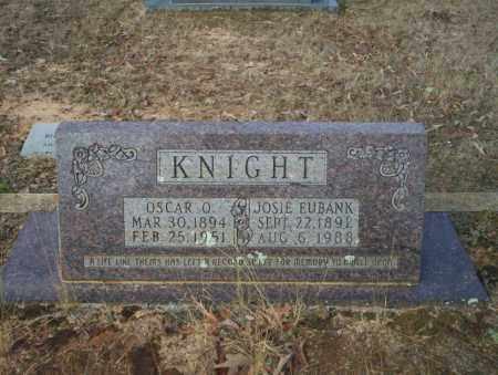 EUBANK KNIGHT, JOSIE - Ouachita County, Arkansas | JOSIE EUBANK KNIGHT - Arkansas Gravestone Photos