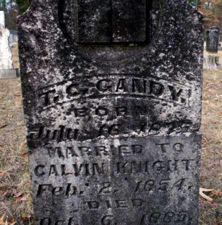 KNIGHT, T.C. GANDY - Ouachita County, Arkansas | T.C. GANDY KNIGHT - Arkansas Gravestone Photos