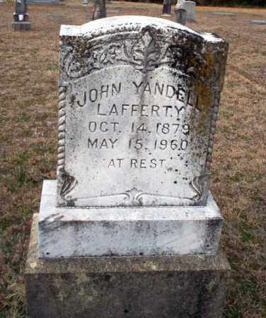 LAFFERTY, JOHN YANDELL - Ouachita County, Arkansas | JOHN YANDELL LAFFERTY - Arkansas Gravestone Photos